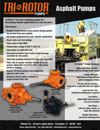 Tri-Rotor Asphalt Pumps Flyer