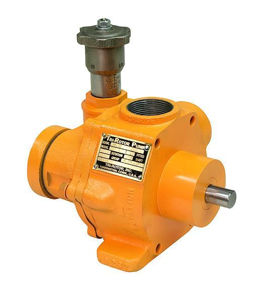 20CPV Variable Volume Control Head Pumps TriRotor